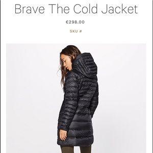 Lululemon Brave The Cold NWT